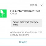 Mid Century Trivia - Now Available As an Amazon Alexa Skill