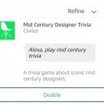 Mid Century Trivia - Now Available As an Amazon Alexa Skill